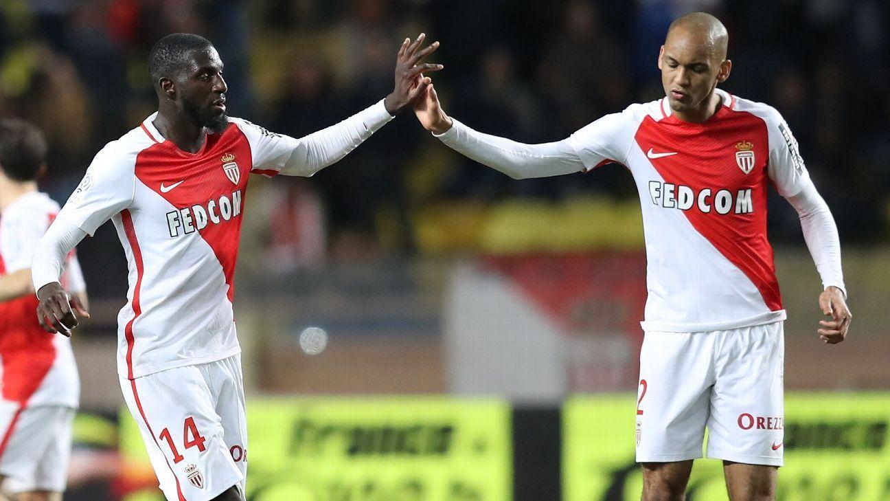 Monaco extend Fabinho contract to offer Tiemoue Bakayoko new deal