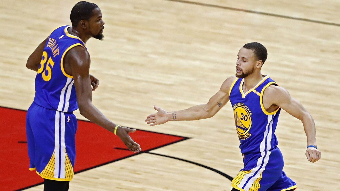 Golden State Warriors make easy work of Houston Rockets
