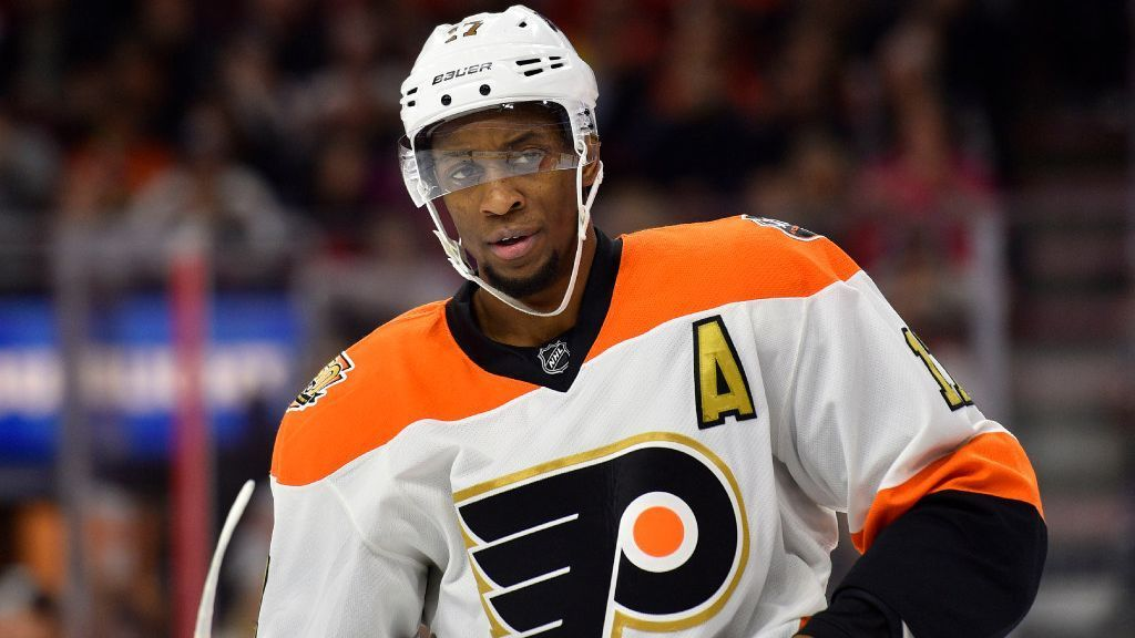 NHL - Philadelphia Flyers winger Wayne Simmonds returns to ...