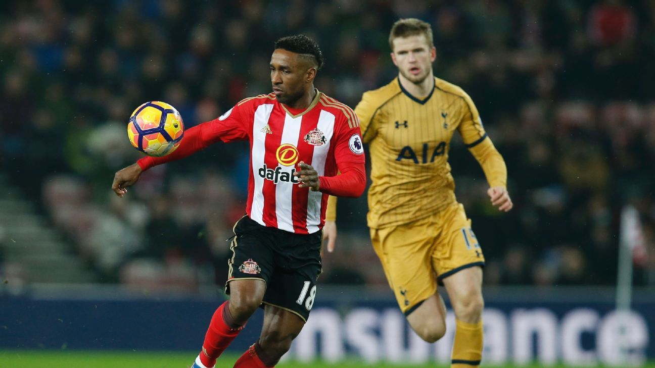Jermain Defoe has free release clause if Sunderland are ...