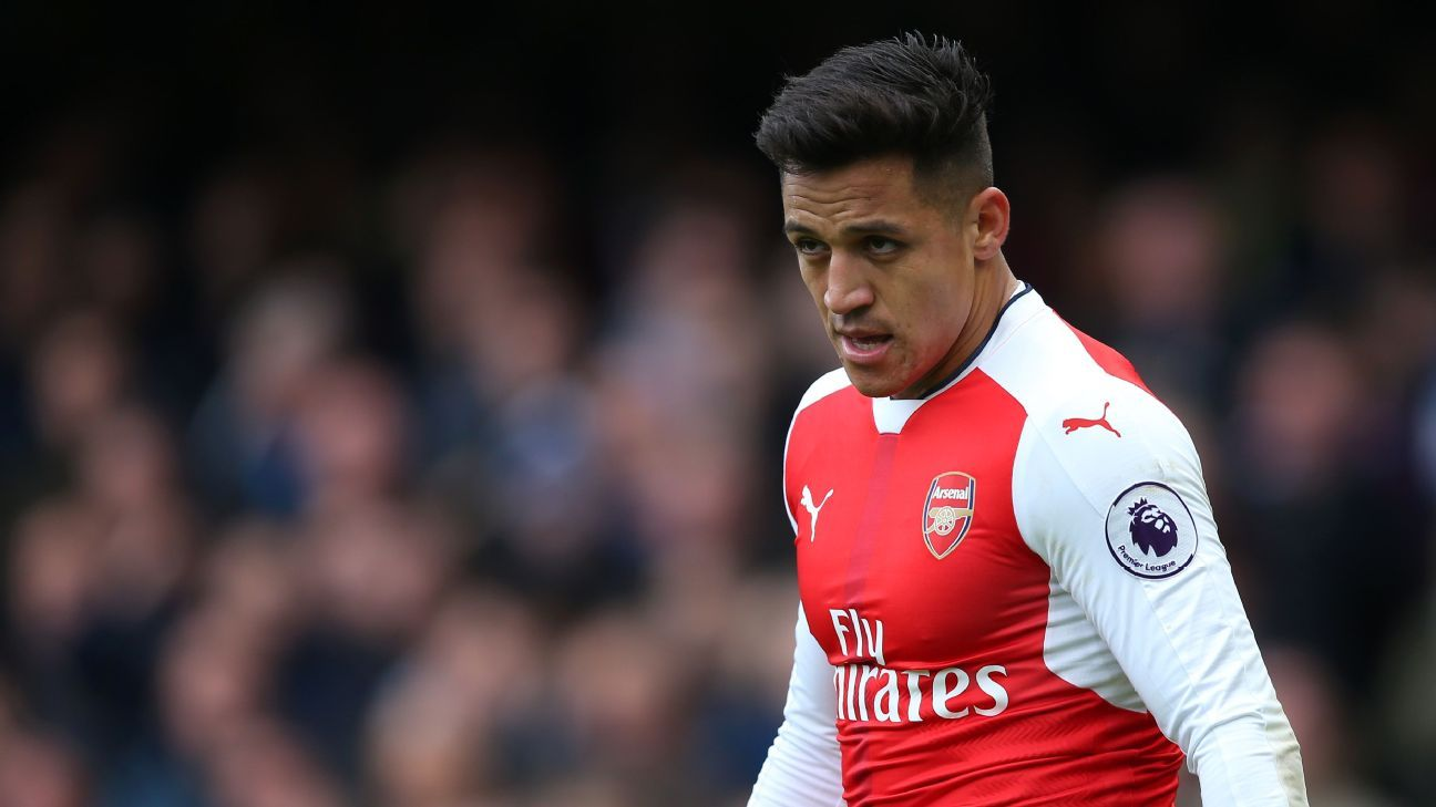 Alexis Sanchez on bench for Arsenal at Liverpool Danny Welbeck starts
