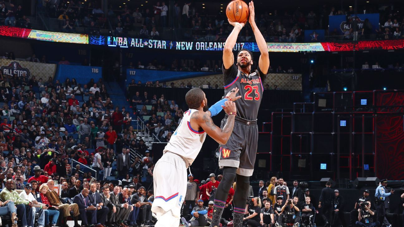 Anthony Davis Breaks Nba All Star Game Scoring Record To on tom gola basketball player