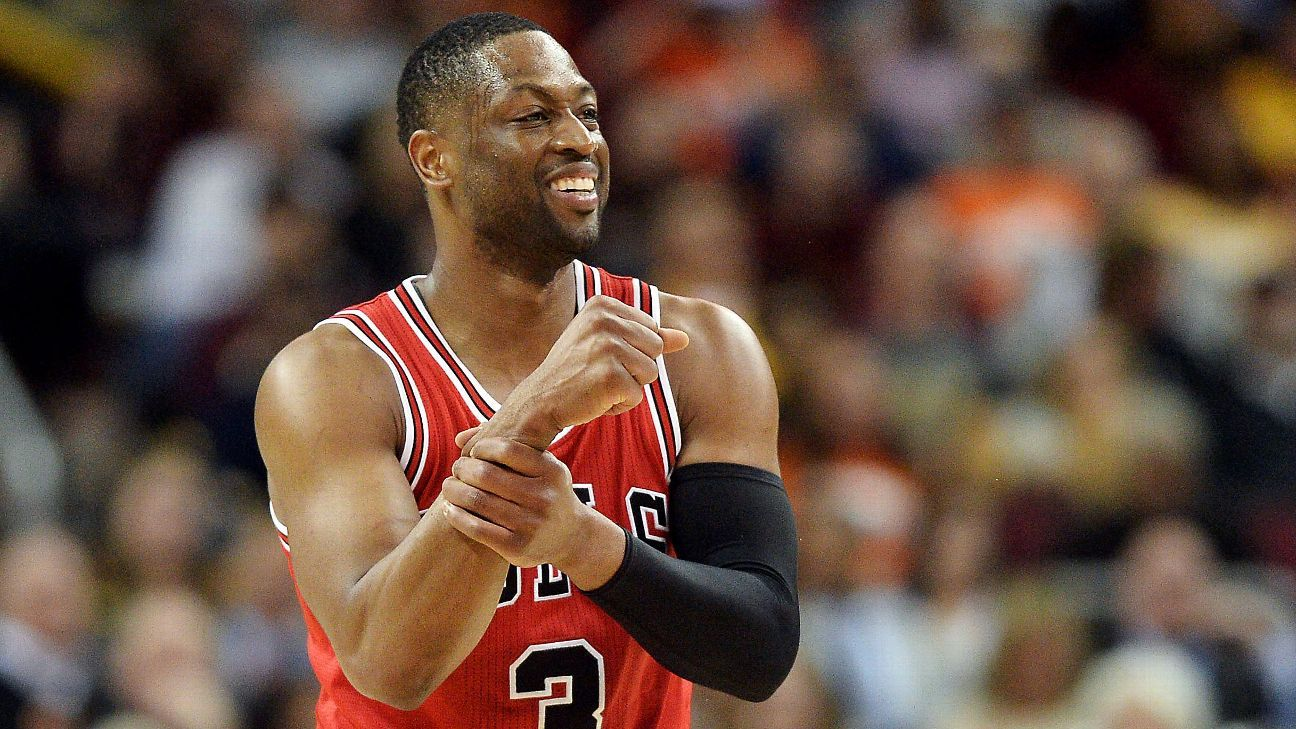 Chicago Bulls' Dwyane Wade out for regular season with ...
