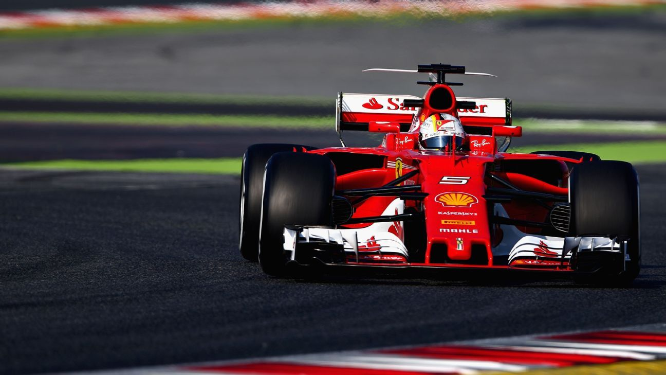 Sebastian Vettel names 2017 car Gina