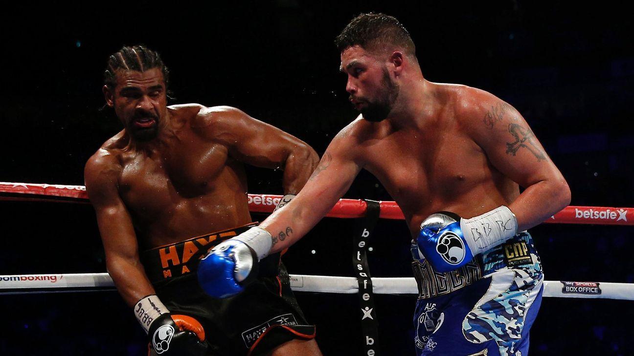 Tony Bellew breaks hand, David Haye ruptures Achilles in ...