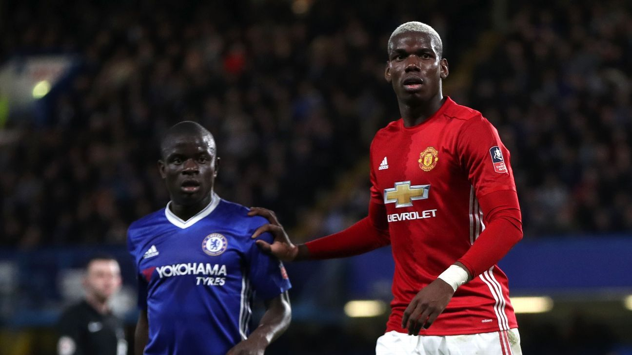 Pogba struggling to deliver on a level with Chelsea's ...