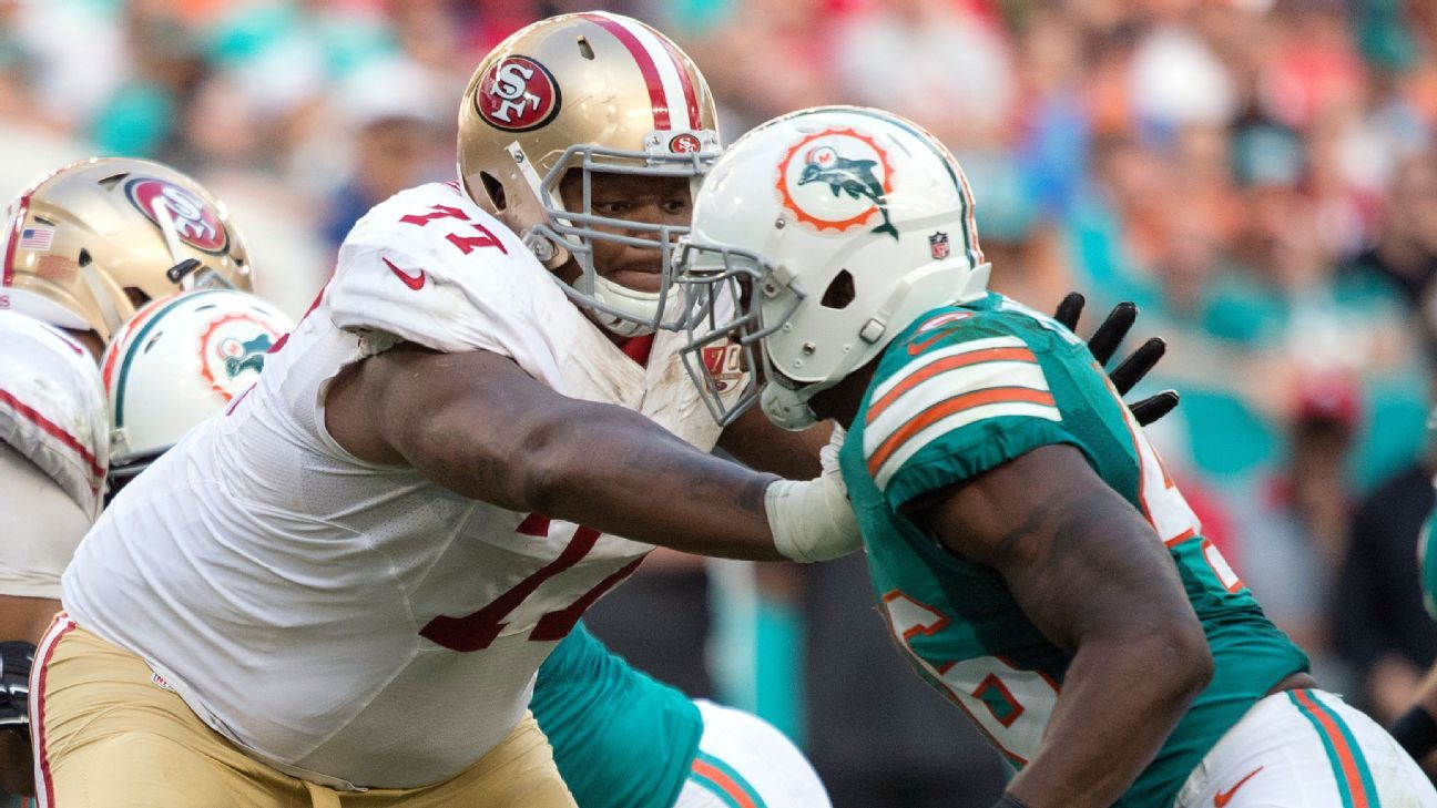 49ers Trent Brown Rewarded For Durability With