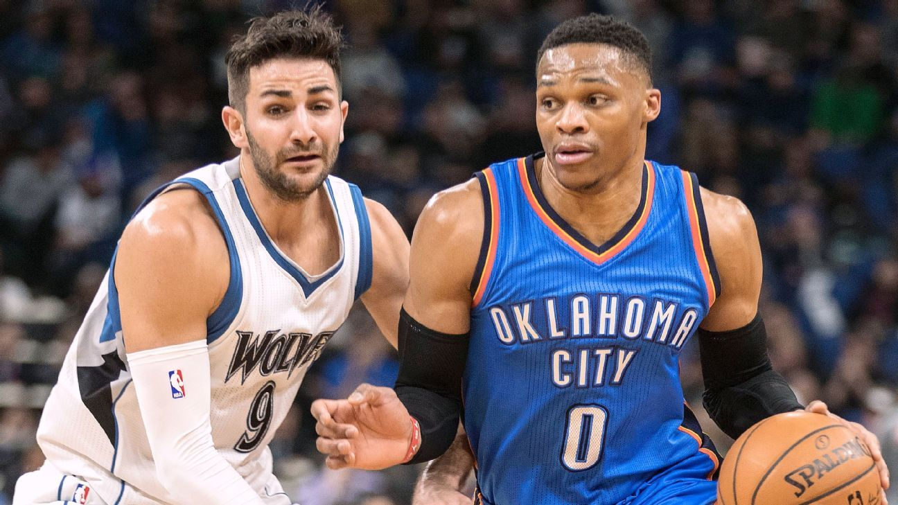 Russell Westbrook sits out game for first time this season