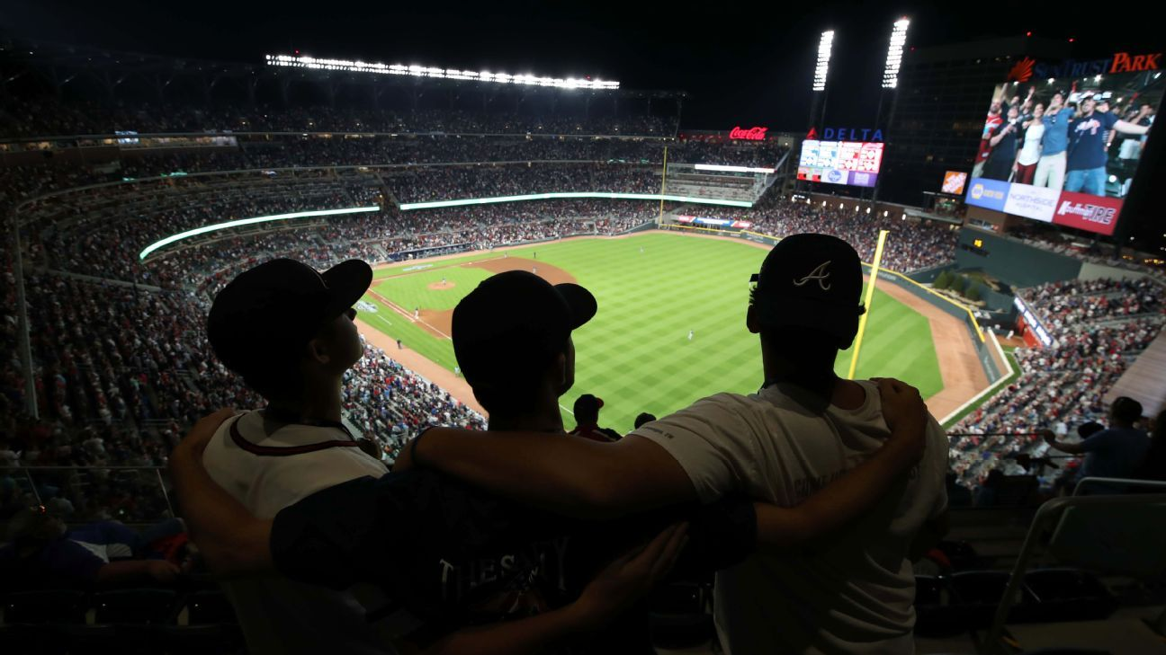 Braves New Suntrust Park Is An Experiment In Baseball And Business Out The Stadium Battery Source Of Electricity Our Sweetspot Espn