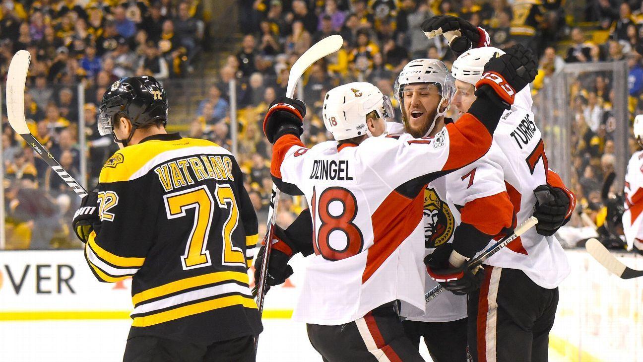 Senators' tight defensive system sends Bruins packing