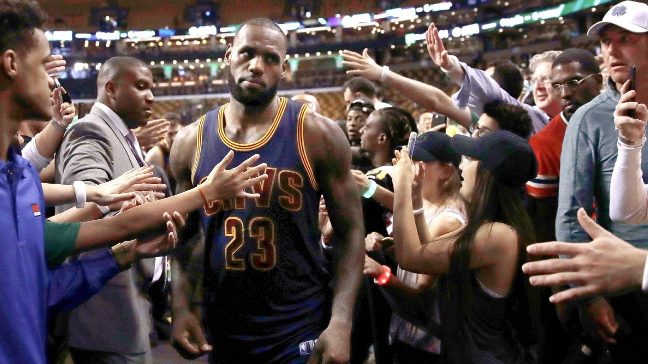 Celtics' Stevens: LeBron keeps getting better