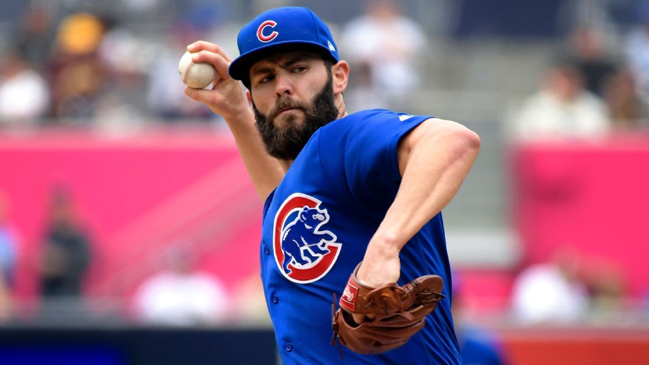 With Cubs' rotation shaky, Jake Arrieta aims to power through injury