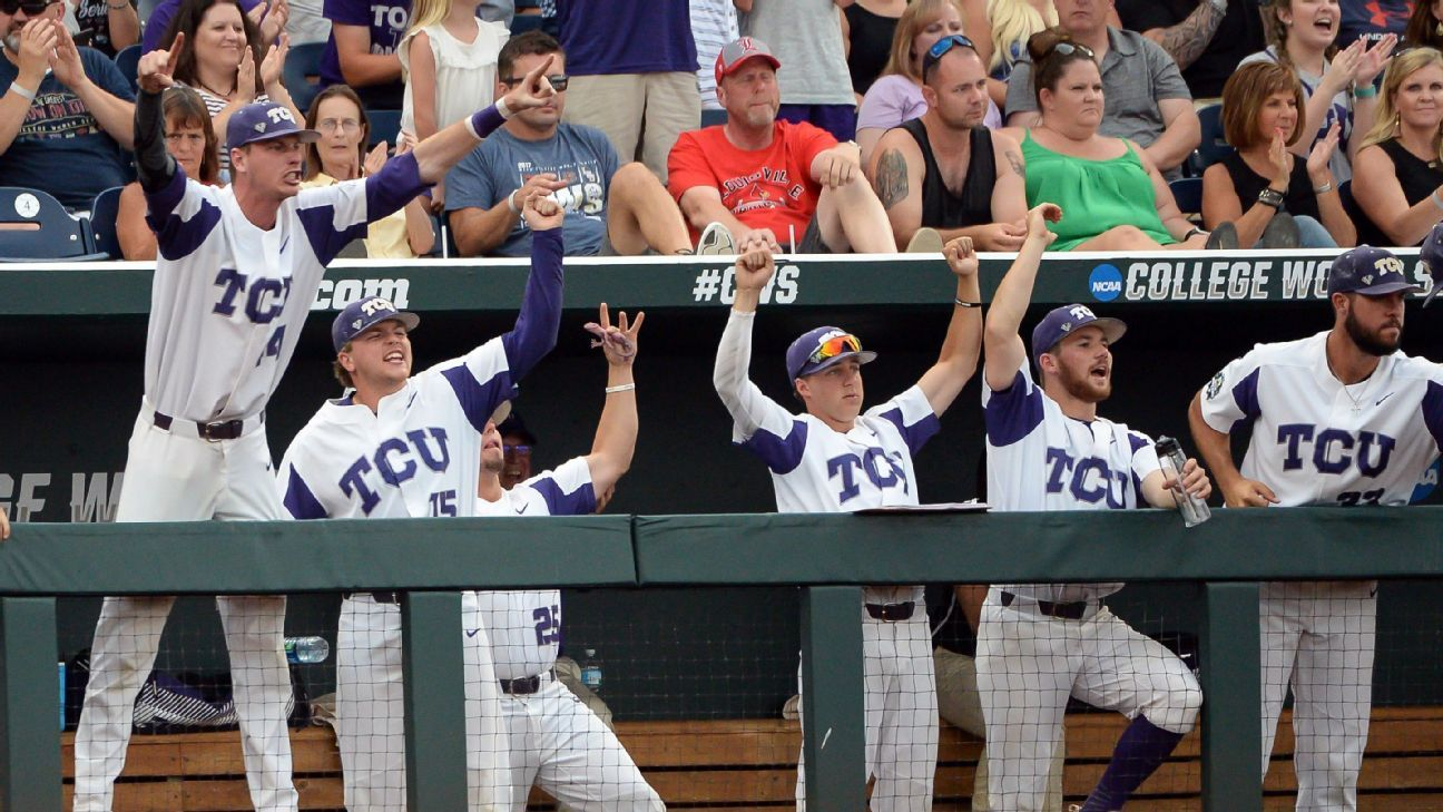 College World Series field narrows to four teams