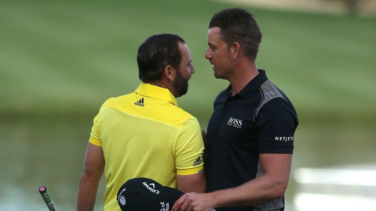 Garcia and Stenson shine at BMW International