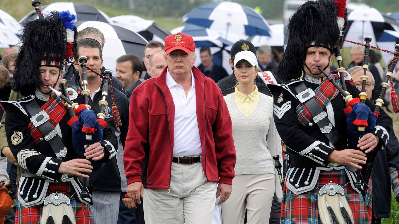 President Donald Trump to attend US Women's Open in NJ