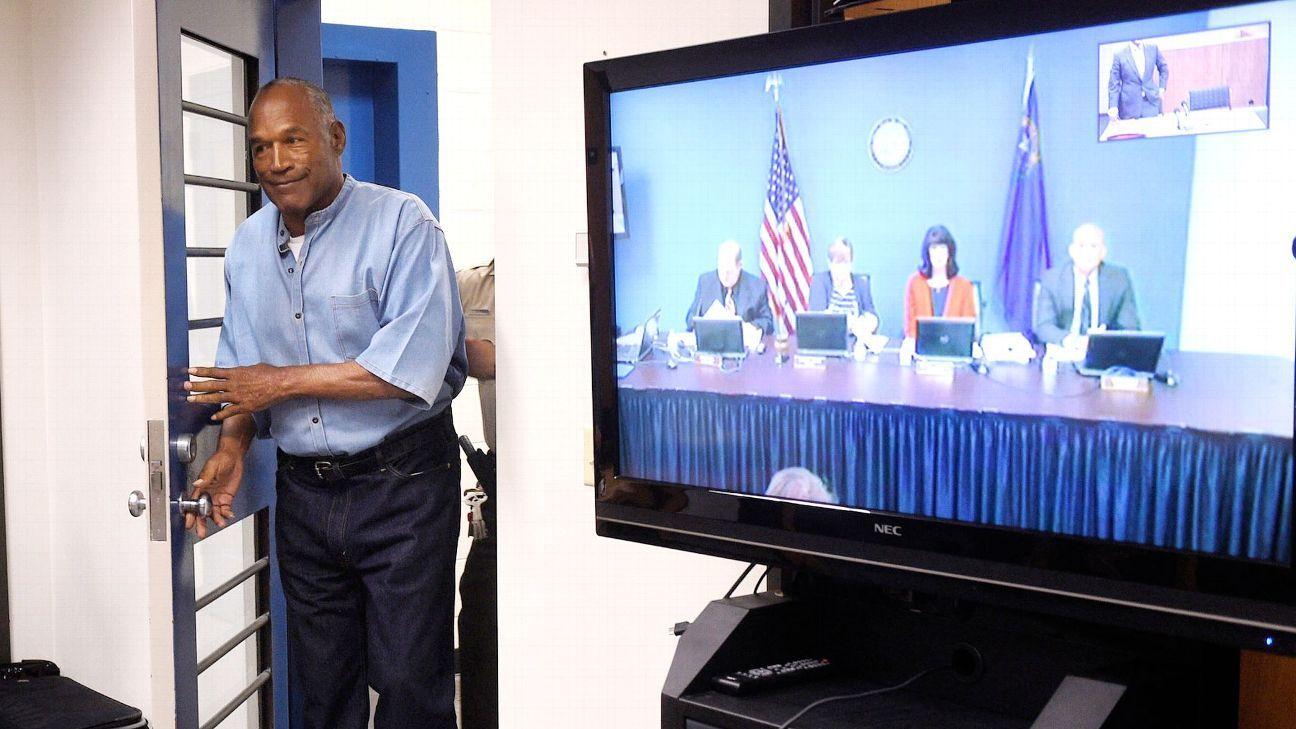O.J. Simpson awaits decision from parole board