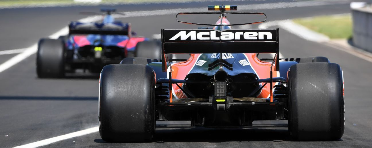 McLaren fires up new Renault engine for the first time