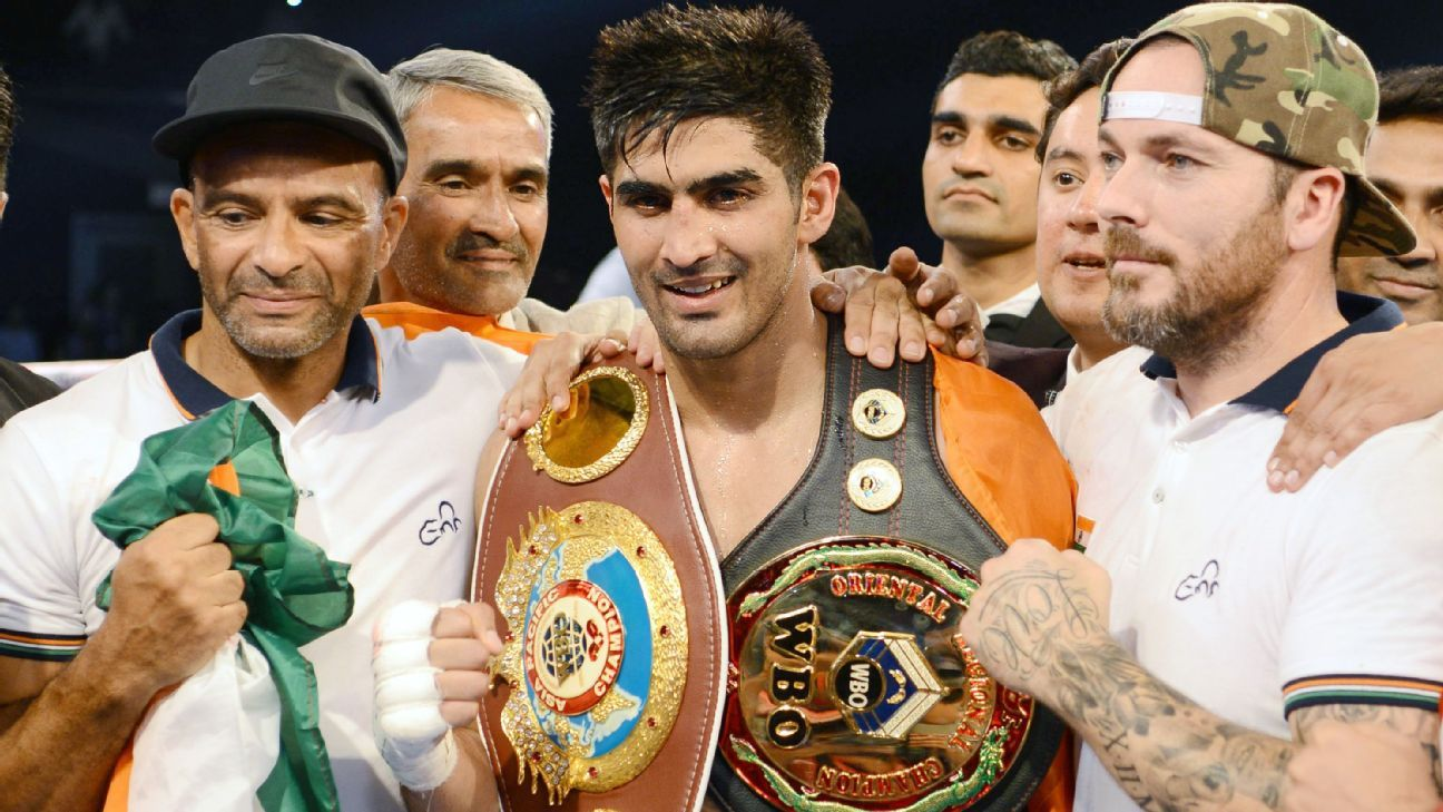 Top Rank signs India super middleweight Singh