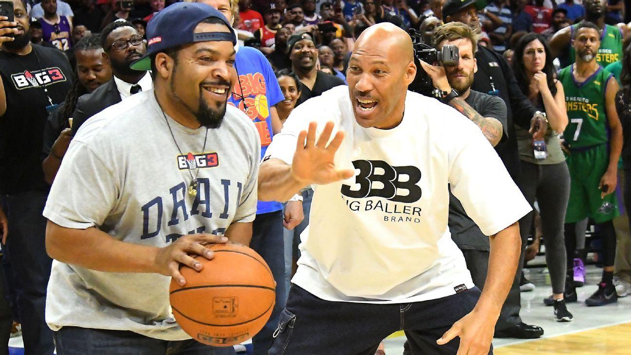 Ice Cube beats LaVar Ball at BIG3 4-point challenge