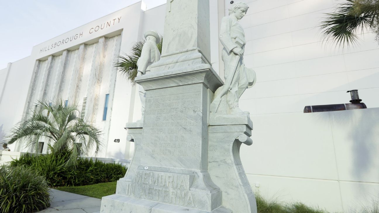 Tony Dungy, Tampa sports teams help pay to move Confederate statue
