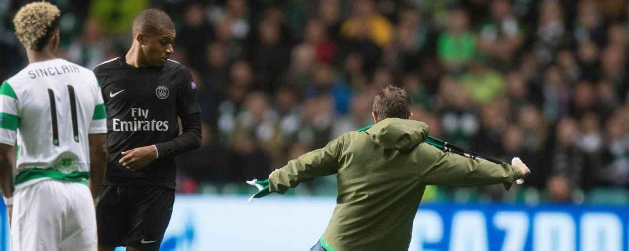 Celtic fan sentenced over Mbappe incident