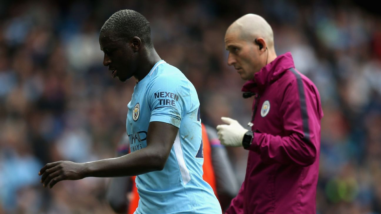 Man City s Benjamin Mendy out longer than we expected Pep