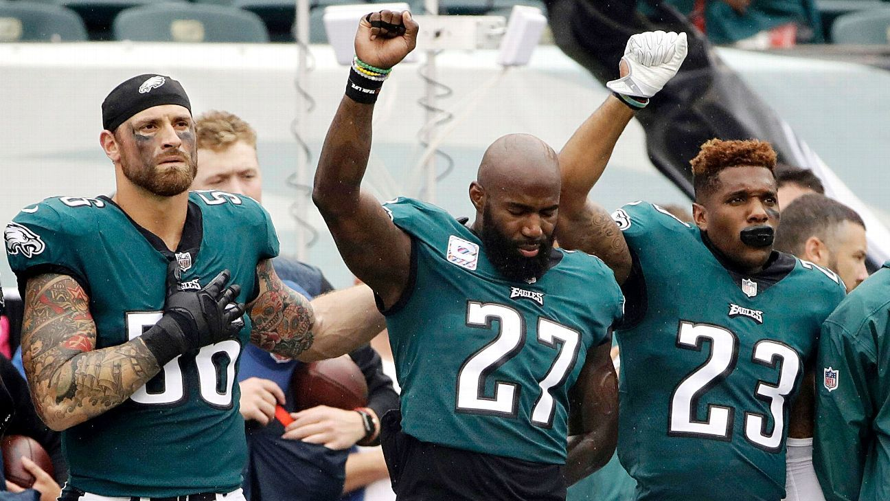 NFL players who protested during the national anthem in ...