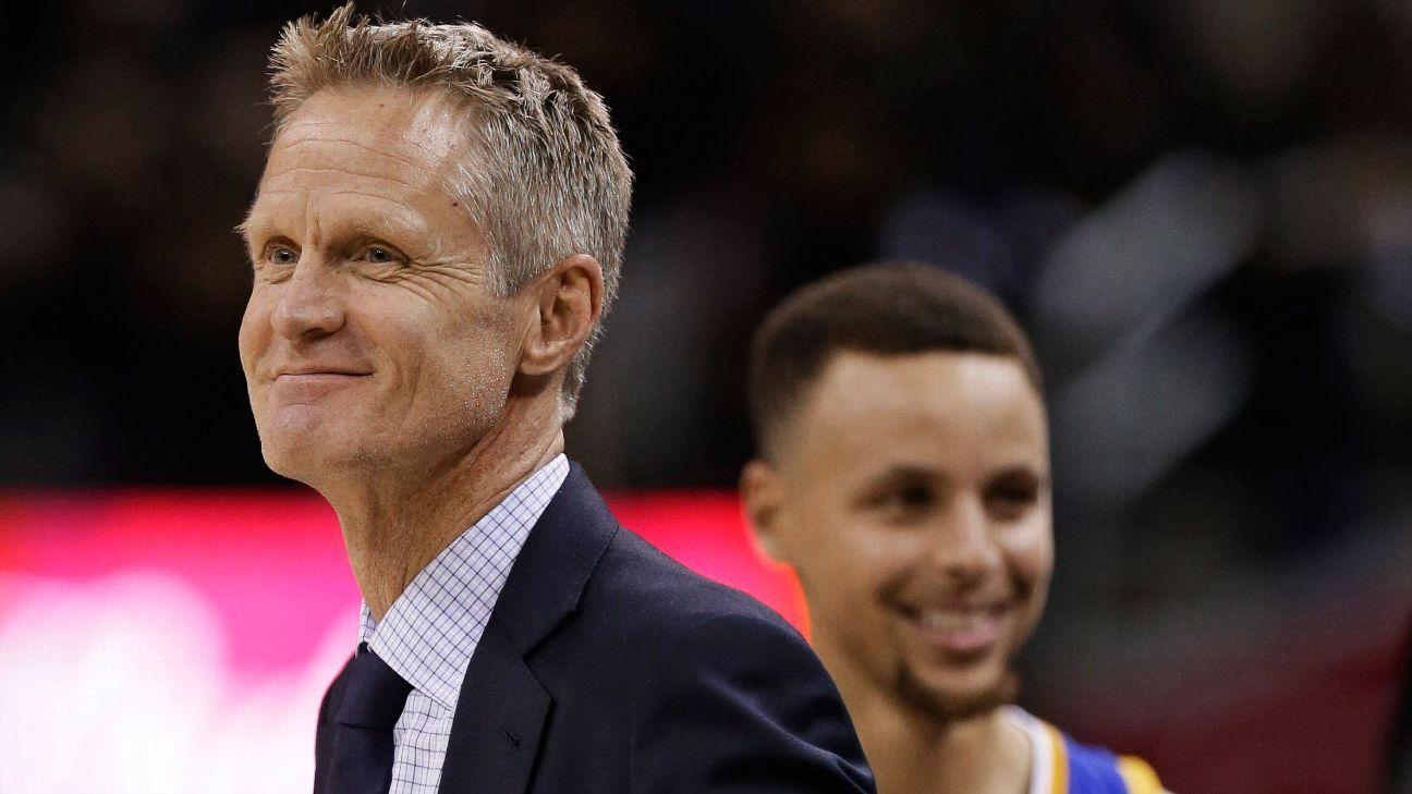 Kerr hopes Warriors
