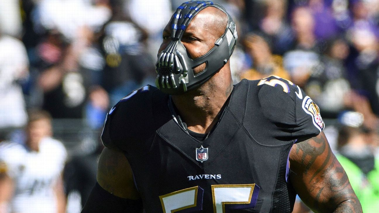 Terrell Suggs Jokes Nfl Has Bigger Fish To Fry Than
