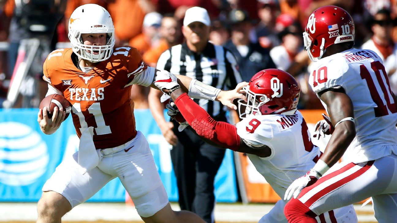Sam Ehlinger shows he's finally Texas' answer at QB in dazzling Red River debut