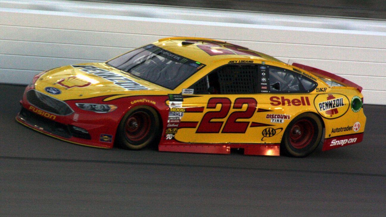 2017 NASCAR Cup Series Paint Schemes - Team #22 Team Penske