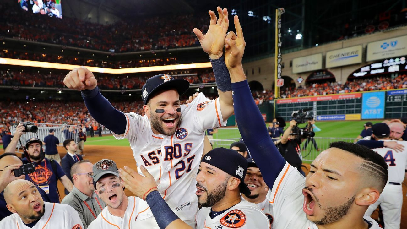 Led by Jose Altuve, Astros' journey to World Series shows the heart of a champion