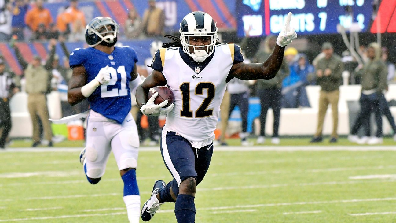 Former Los Angeles Rams WR Sammy Watkins intends to sign 3-year deal with Kansas City Chiefs