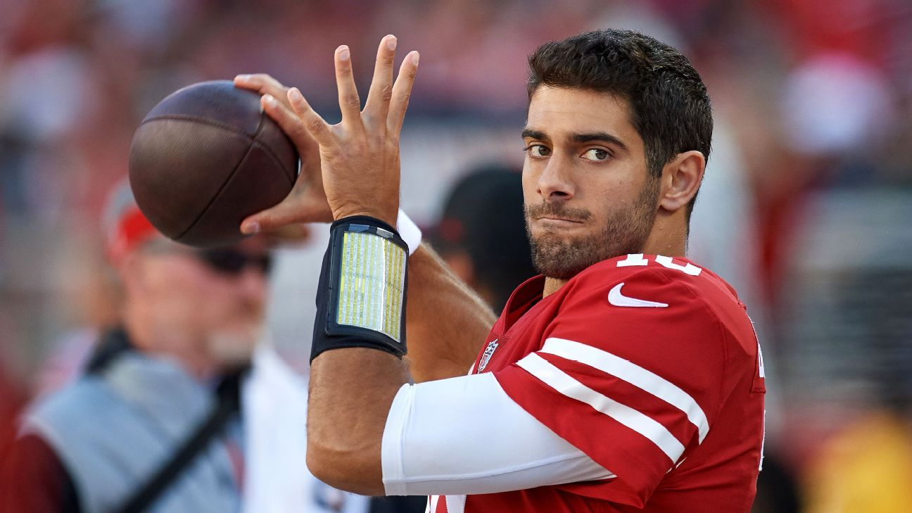 Important dates for 49ers in Jimmy Garoppolo contract negotiations
