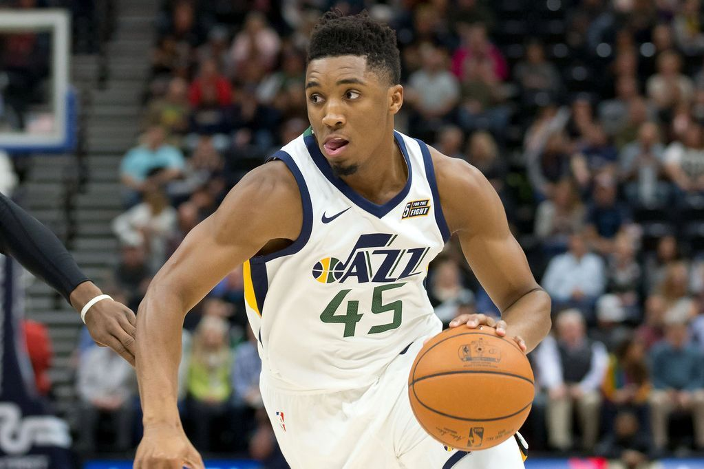 Utah Jazz Rookie Guard Donovan Mitchell Surprises Mom With