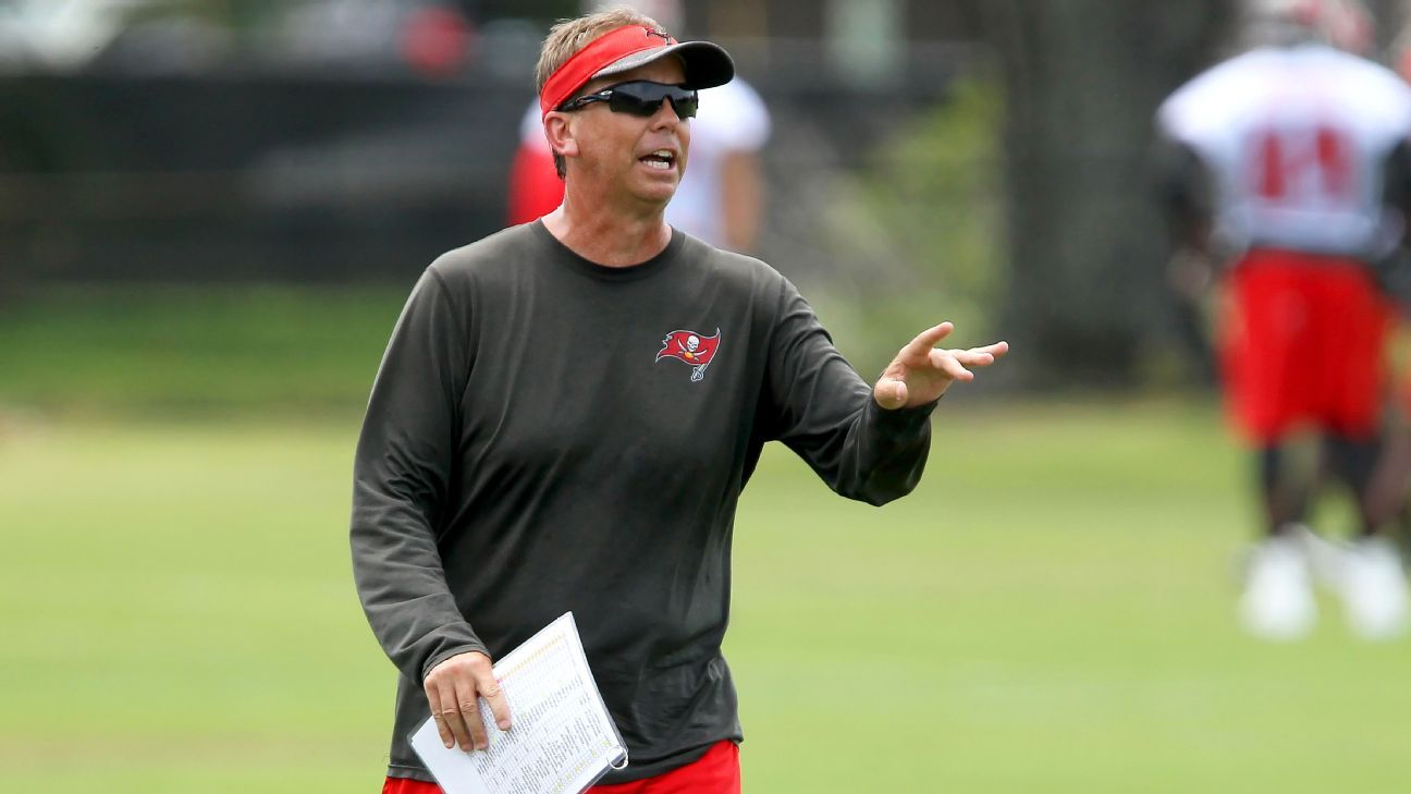 Buccaneers offensive coordinator Todd Monken will call plays Sunday against the Giants, head coach Dirk Koetter announced.