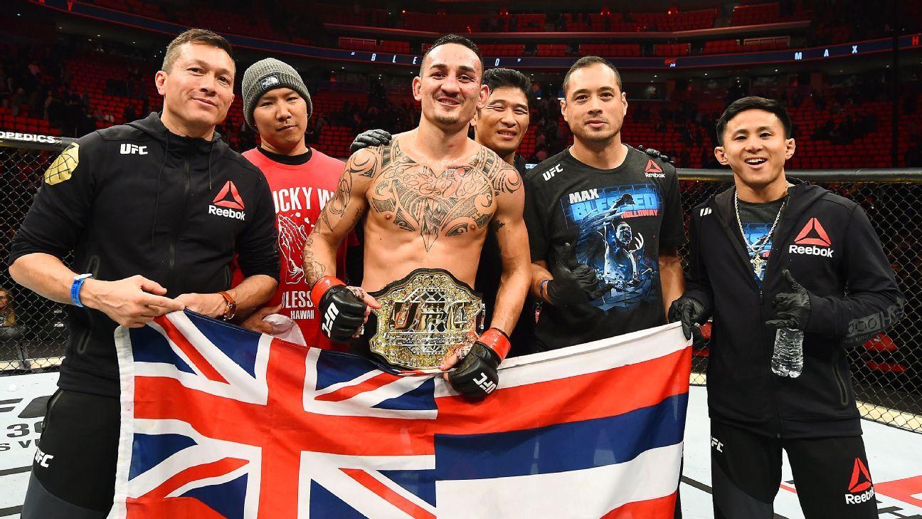 UFC 226, Max Holloway