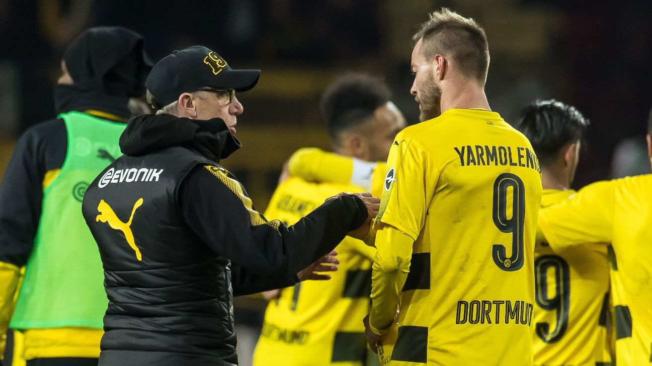 stoger credits dortmund predecessor bosz after mainz win. Black Bedroom Furniture Sets. Home Design Ideas