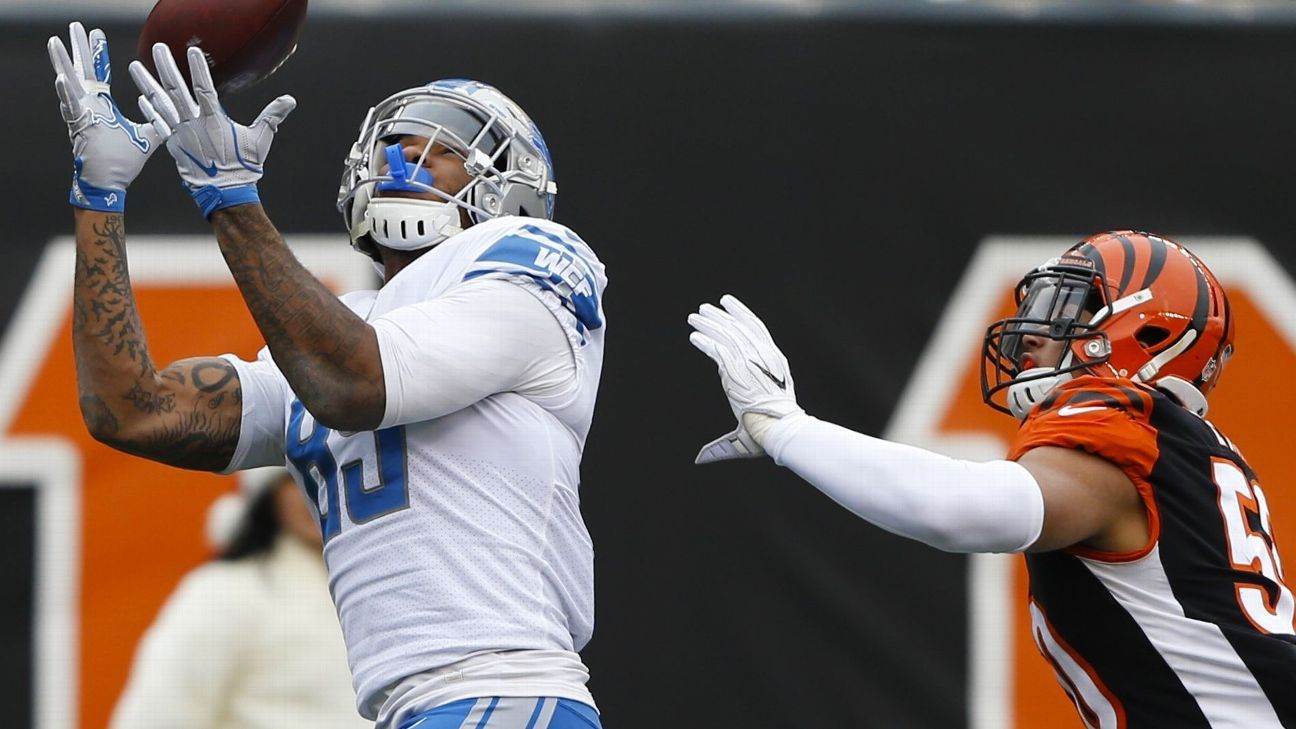 Eric Ebron signs two-year deal with Indianapolis Colts