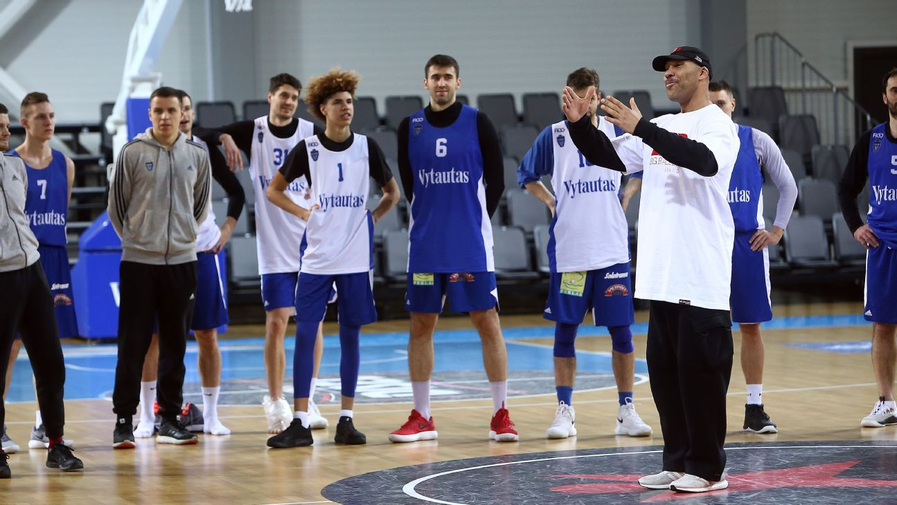 Lithuanian team schedules 'Big Baller Brand Challenge' games