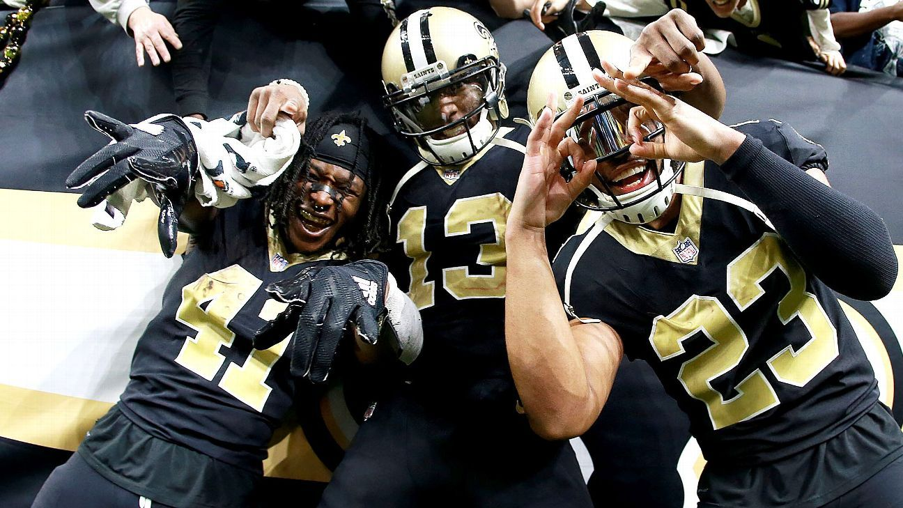 The Saints made a huge leap in the Future Power Rankings, but what does history tell us about how breakout rookie classes fare the next season?