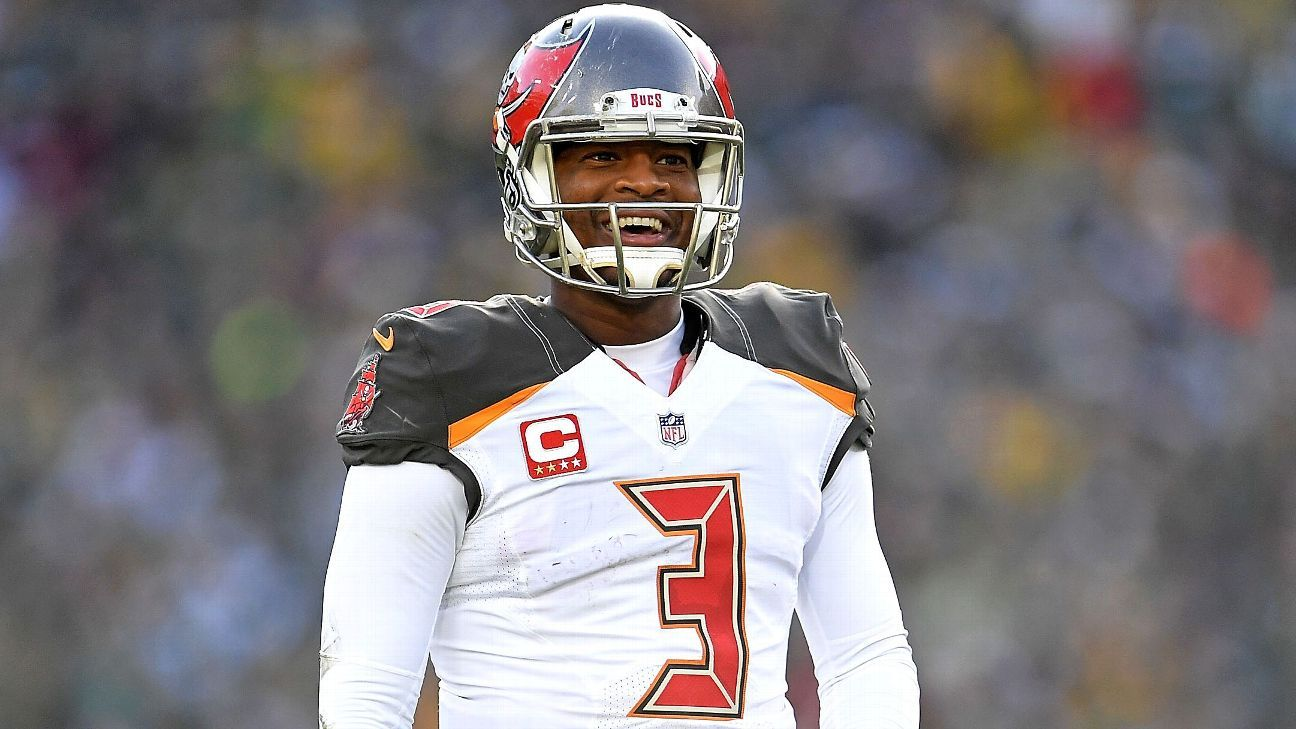 A source confirms to ESPN that the Tampa Bay Buccaneers have picked up QB Jameis Winston's fifth-year, $20.9M option for 2019.