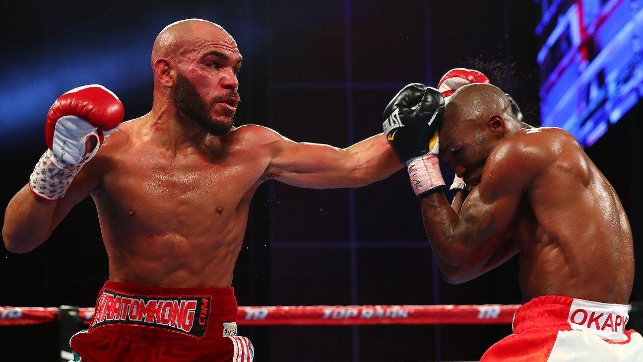 Raymundo Beltran defeats Paulus Moses to win vacant lightweight ...