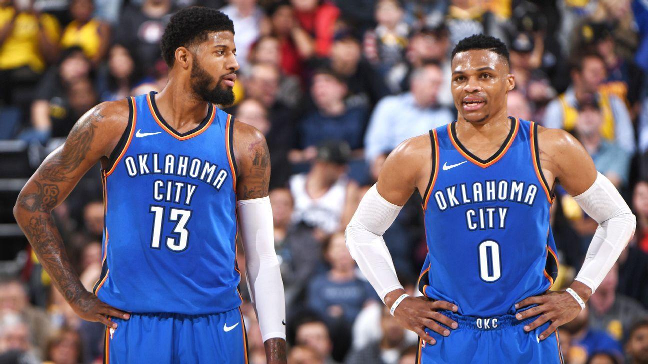 Paul George: Finish by Oklahoma City Thunder won't determine free agency decision