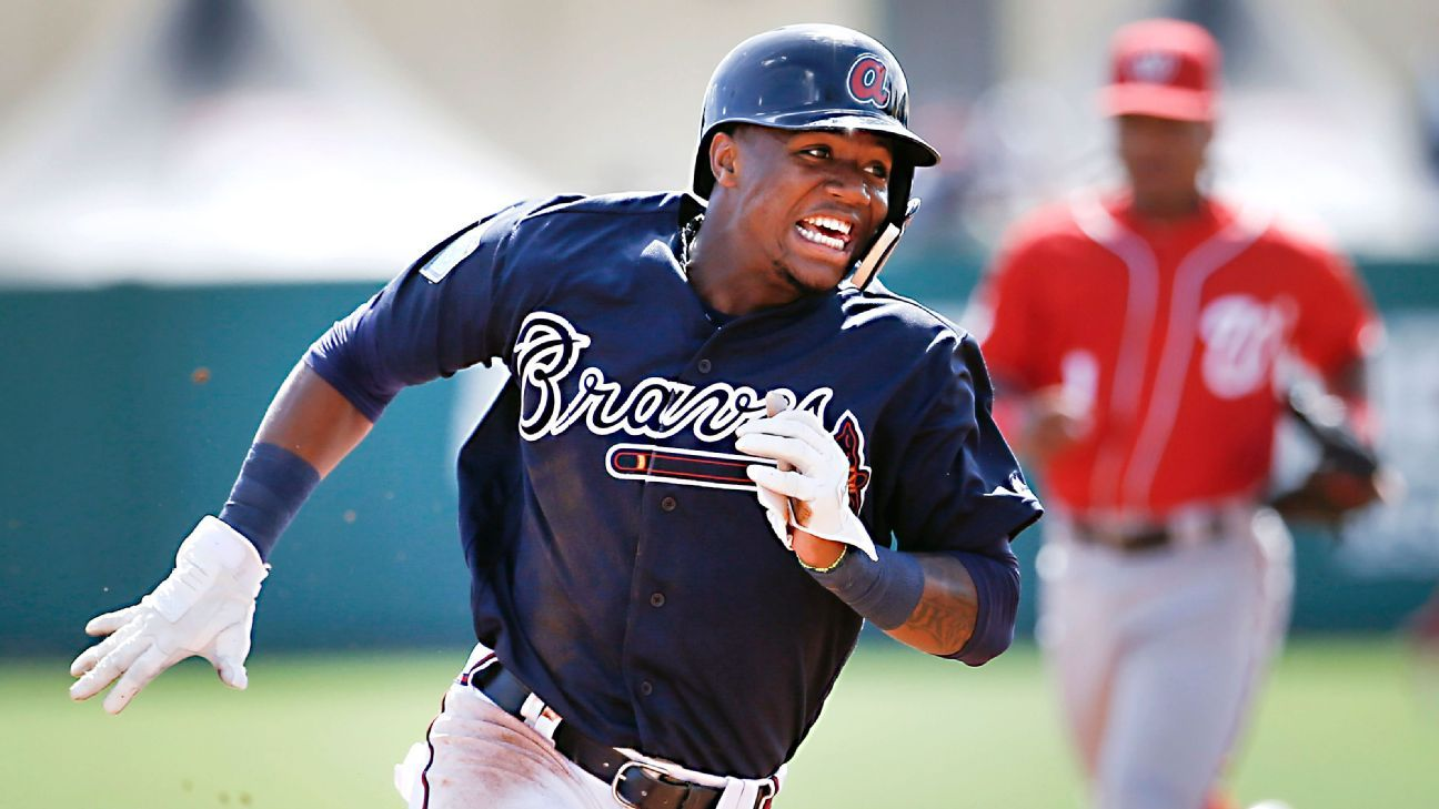 Ronald Acuna Jr. of Atlanta Braves leaves game with knee injury