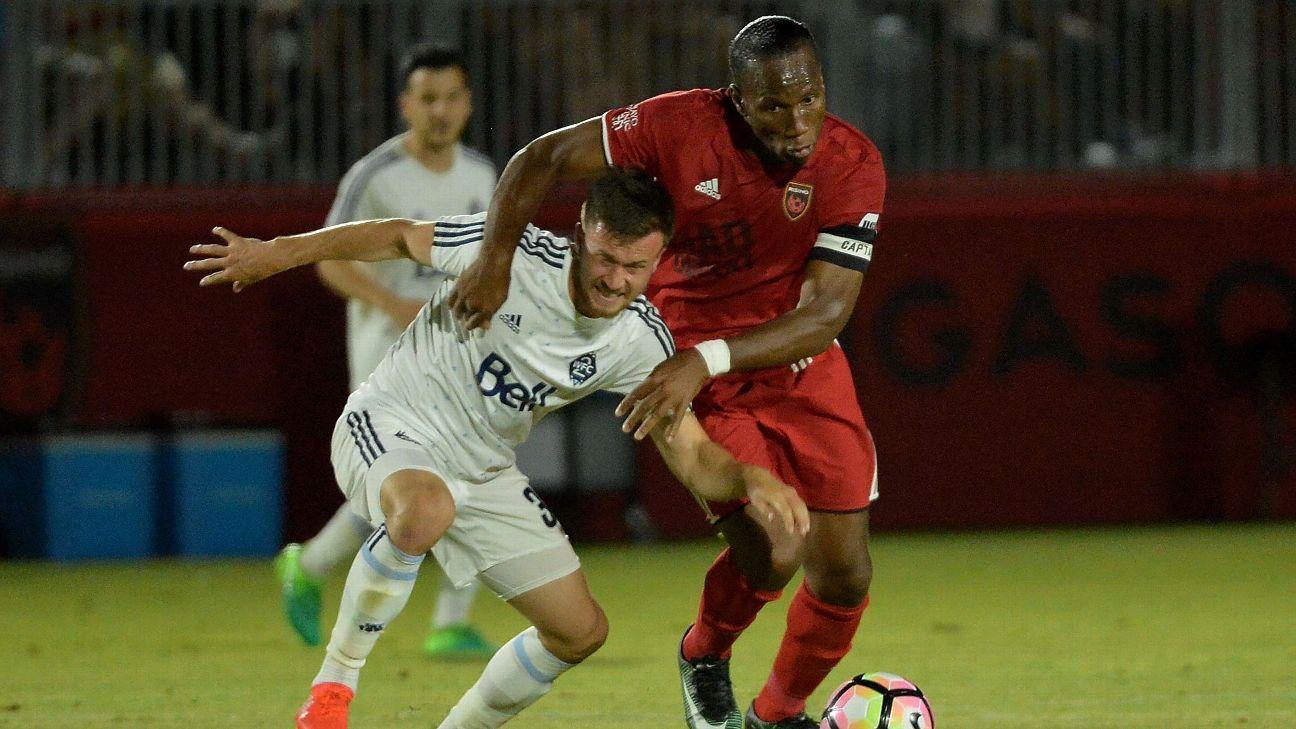 A sus 40 años, Didier Drogba sigue demostrando su calidad