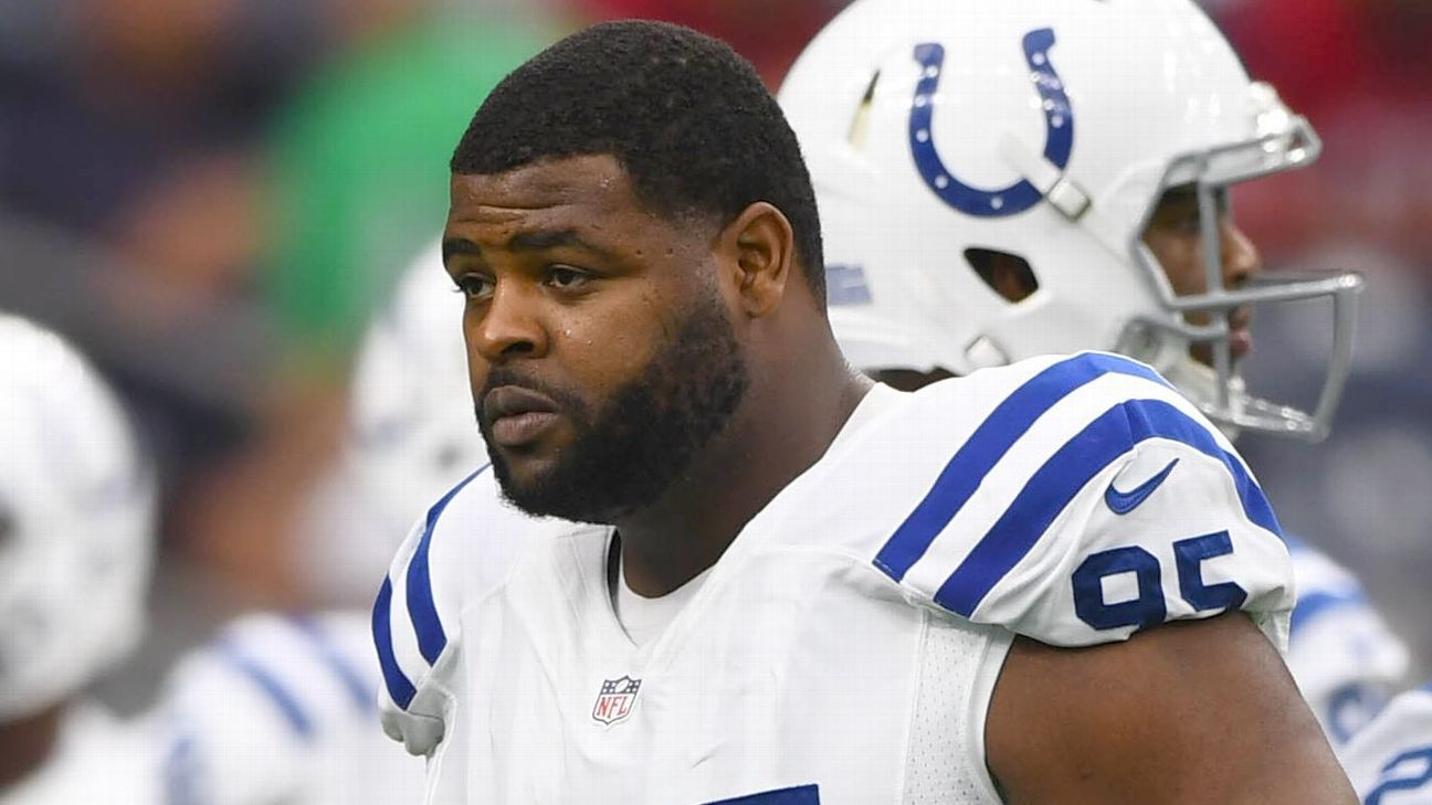 Johnathan Hankins, who had 44 tackles and two sacks in his only season with the Colts after signing a three-year deal, has been released by the team.