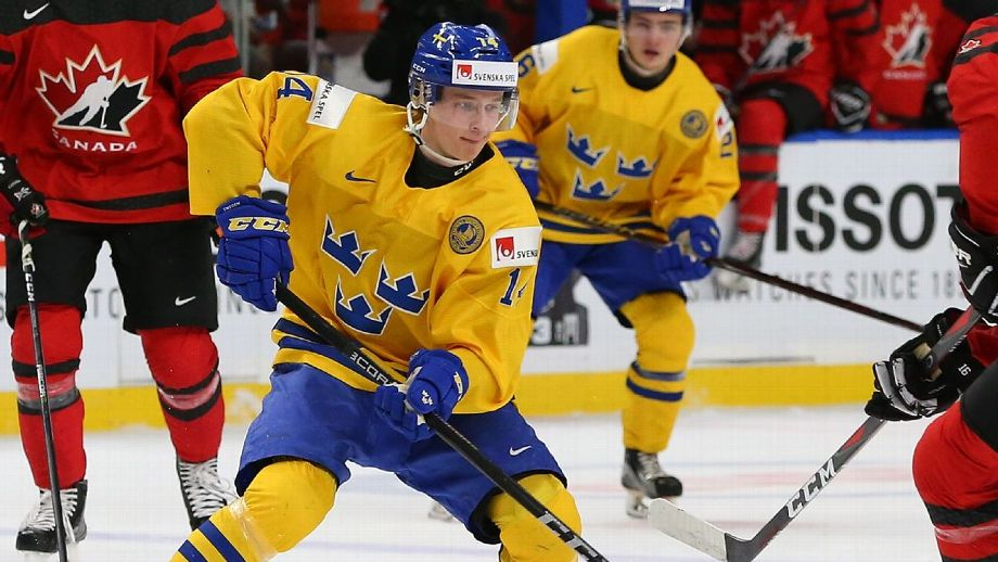 NHL - Top 50 Prospects In NHL Pipelines, Including Elias Pettersson