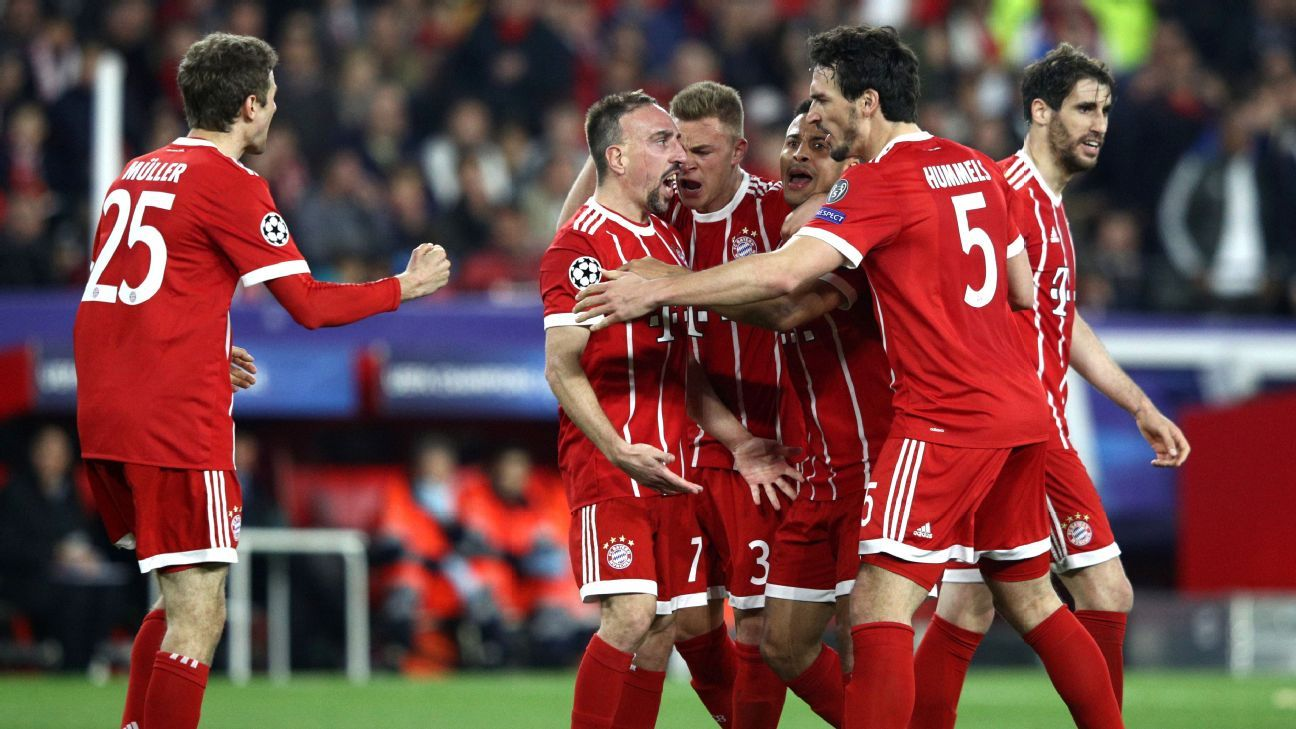 Sevilla fc vs bayern munich football match report for Kindergeld 2018 hohe bayern
