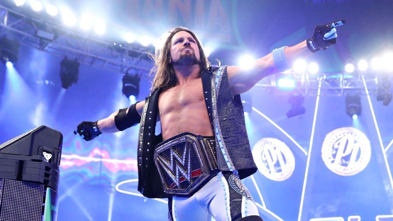 WWE Superstar Profile - AJ Styles